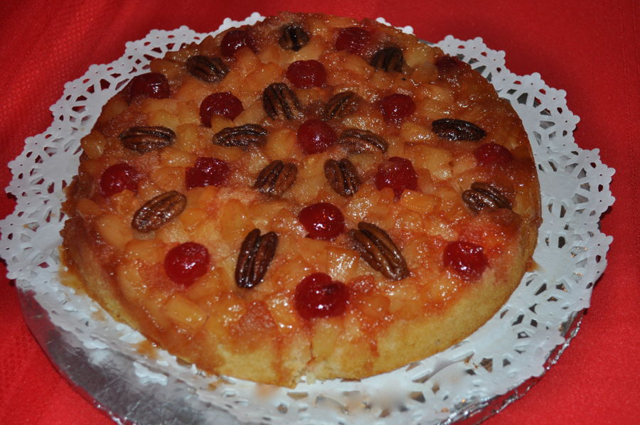 Pineapple Upside Down Cake on Cake Central