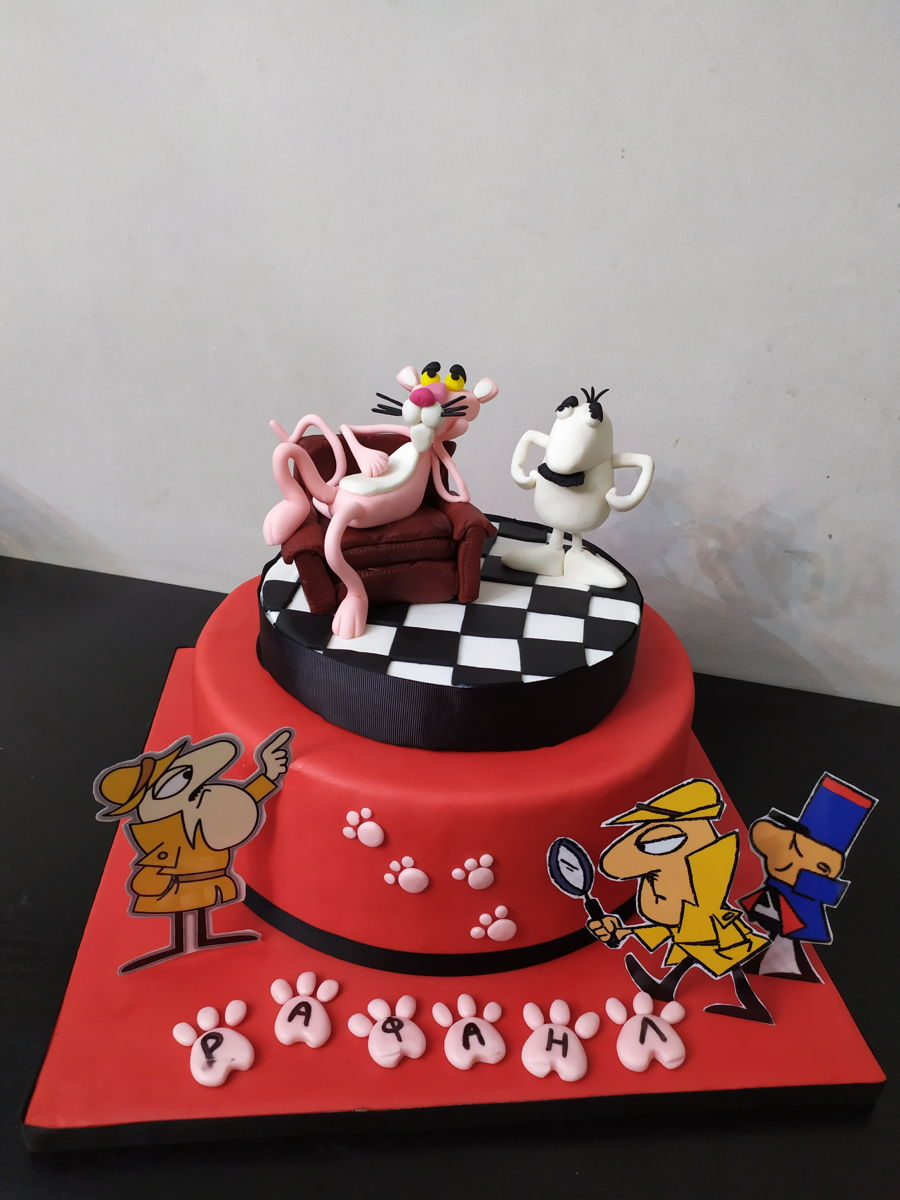 Pink Panther Cake on Cake Central