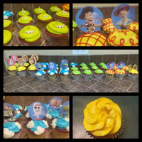 Toy Story Cupcakes You're never too old for Disney. My daughter wanted Beauty & the Beast as well as Toy Story cupcakes for her 20th birthday. They...