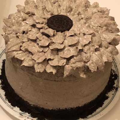 Oreo Sunflower Cake