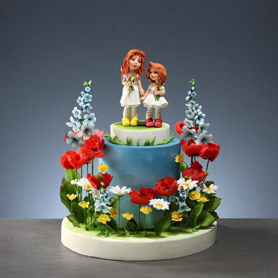 Two Sisters' Cake