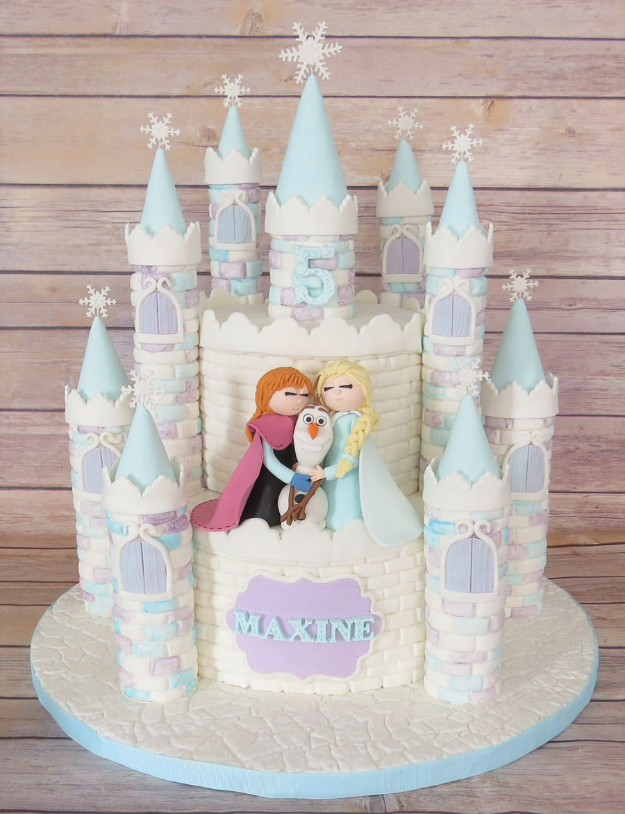 Frozen on Cake Central