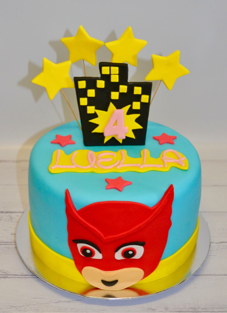 Owlette - Pj Mask on Cake Central