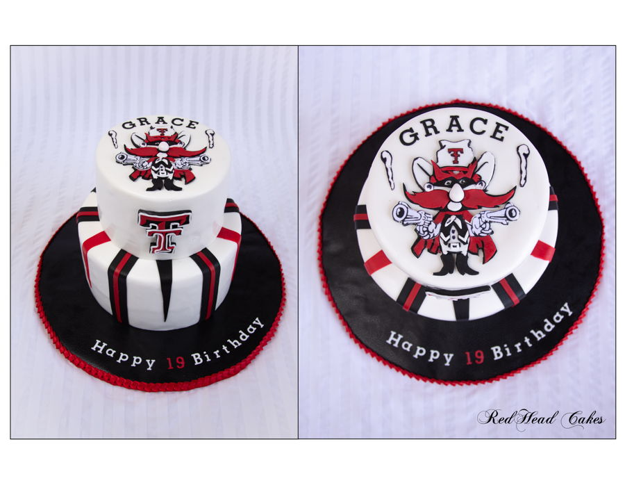 Texas Tech Cake on Cake Central