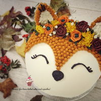 Autumn / Fall Themed Cake All buttercream cake