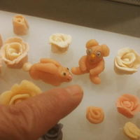 J'accuse! Animal figures made from homemade marzipan