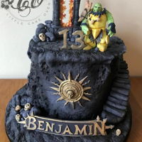 Warhammer Age Of Sigmar Double chocolate Fudge cake. Age of Sigmar Warhammer