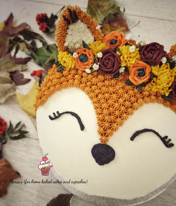 Autumn / Fall Themed Cake
