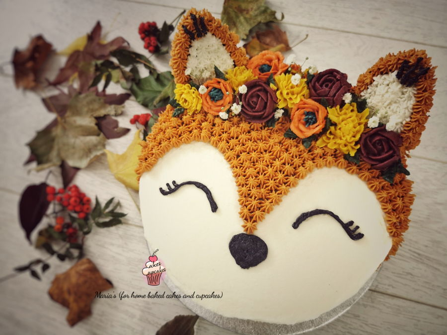 Autumn / Fall Themed Cake on Cake Central