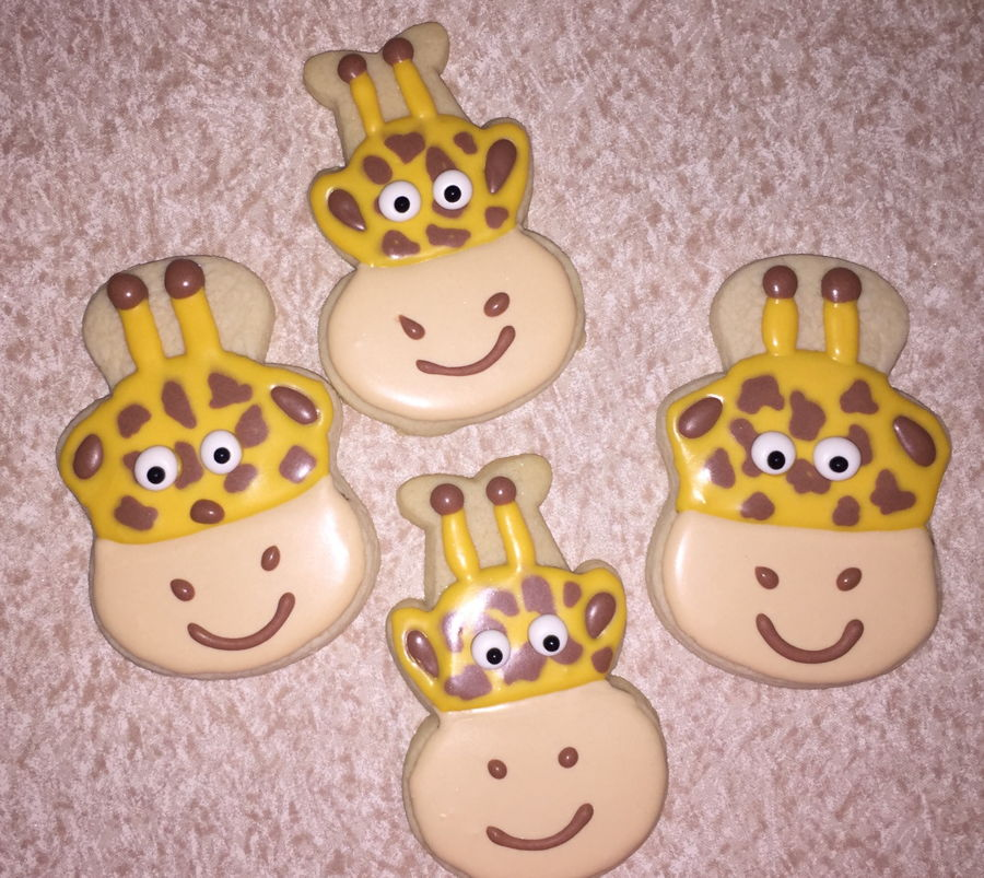 Giraffe Cookies on Cake Central