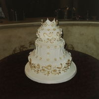 The Bride Chose A Kerry Vincent Cake made this for draper's — bride wanted it a little less decorated than Kerry 's lovely original —the...