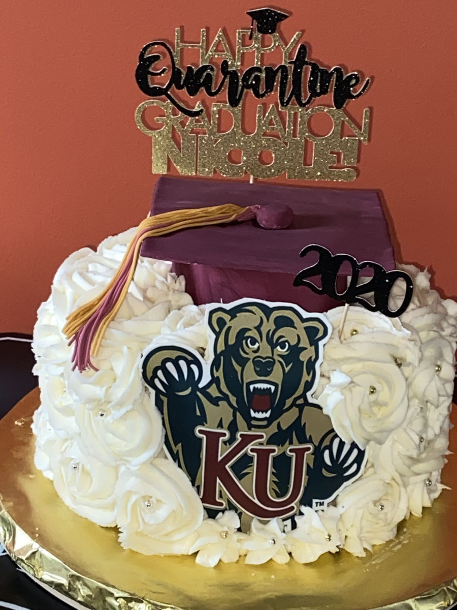 Kutztown Graduation Cake on Cake Central