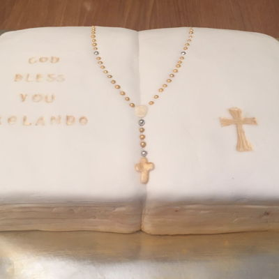 Confirmation/first Communion Cake