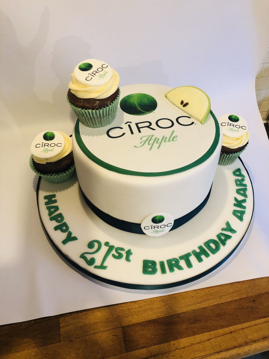 Chiroc Vodka Cake on Cake Central