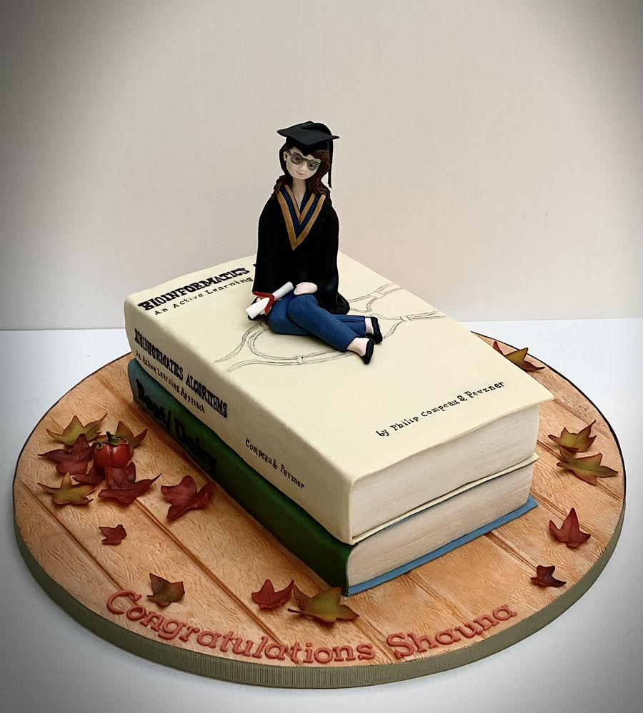 Fall Graduation on Cake Central