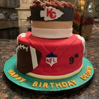 Mahomes Cake This cake was requested by and Icing Smiles family. It was so fun to make.