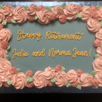 "Retirement Cake Last October was a month of many retirements at work. Our company offered the ""Golden Handshake"" which is basically an..."