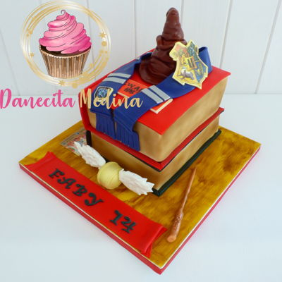 Harry Potter Fondant Cake