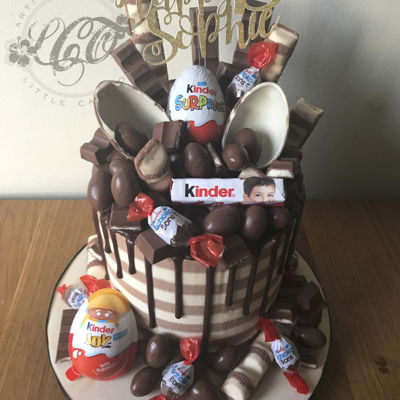 Kinder Crazy Loaded Cake