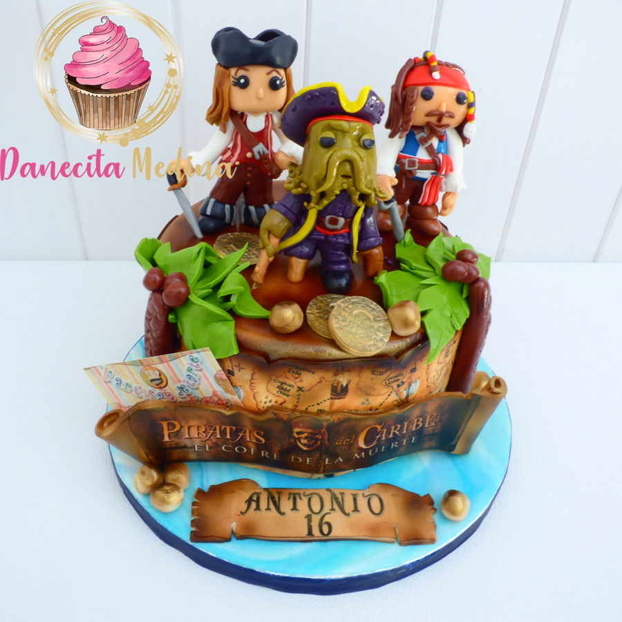 Pirates Of Caribean Funkos Cake on Cake Central