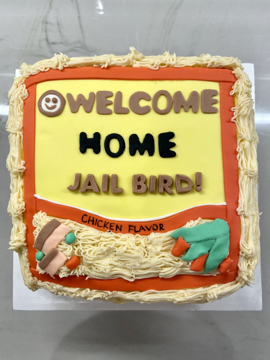 Ramen Welcome Home Cake on Cake Central