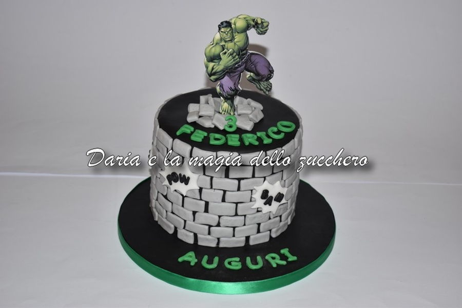 The Incredible Hulk Cake on Cake Central
