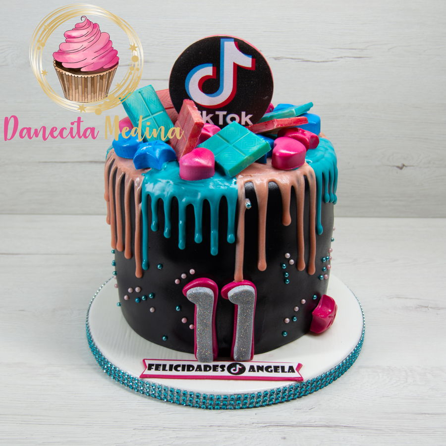 Tik Tok Fondant Cake on Cake Central