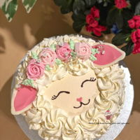 Lamb Cake A super cute cake for Easter