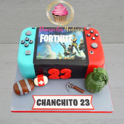 Nintendo Switch Fondant Cake
