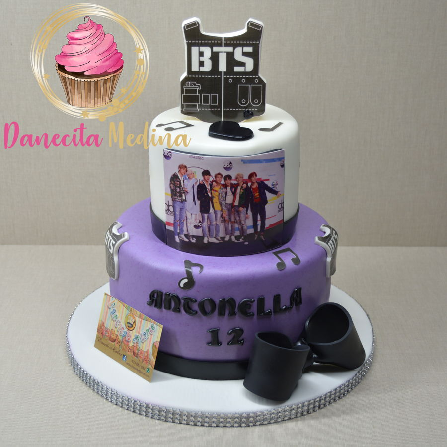 Bts Band Fondant Cake on Cake Central