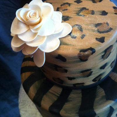 How To Paint Leopard Print on your Cake on Cake Central